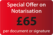 cheap notary public london